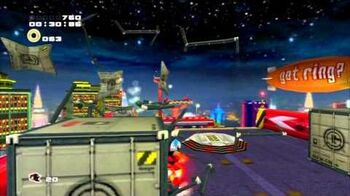 Sonic Adventure 2 (PS3) Radical Highway Mission 2 A Rank