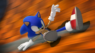 Sonic Generations GCI Slide
