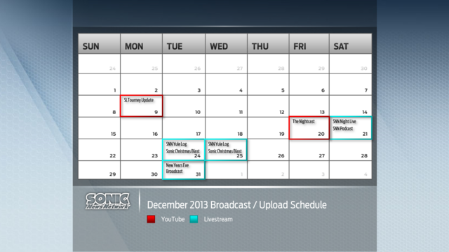 File:Sonic News Channel December 2013 Broadcast and Upload Schedule.png