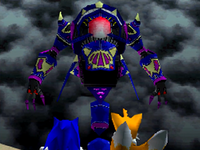 Sonic Tails and the Egg Wizard Sonic Rush Adventure