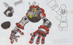 Big Arm SG-koncepcyjne