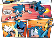 IDW 14 Sonic vs Metal