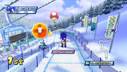 Mario Sonic Olympic Winter Games Gameplay 049
