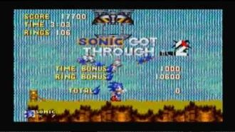 Sonic 3 and Knuckles Hyper Sonic Part 1