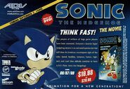 Sonic The Movie DVD Ad
