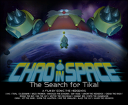 Chao in Space The Search for Tikal Poster