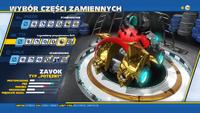 Modyfikacje Legendarny przyspieszacz Zeti