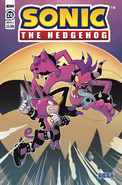 Sonic IDW 28 Cover A