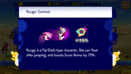 Sonic Runners Rouge Controls