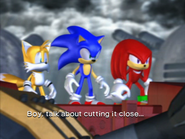 Team Sonic end