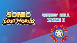 Windy Hill Zone 3 - Sonic Lost World
