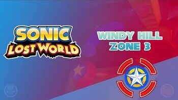 Windy Hill Zone 3 - Sonic Lost World