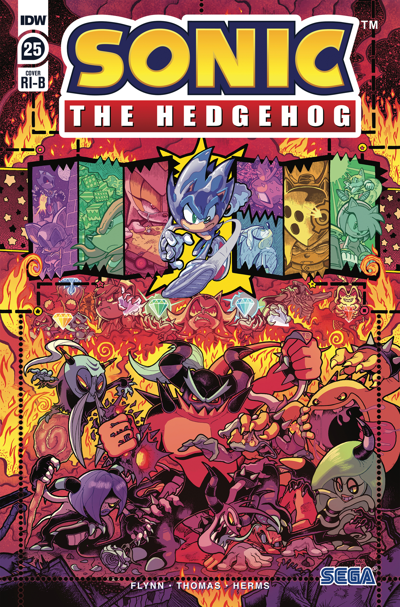 Idw Sonic The Hedgehog Issue 25 Sonic News Network Fandom