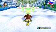 Mario Sonic Olympic Winter Games Gameplay 154