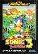 Sonic 3 box Asia