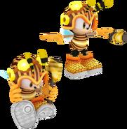 Speed Battle Model Honey Charmy