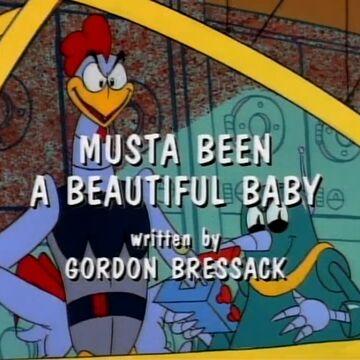Musta Been A Beautiful Baby Sonic News Network Fandom