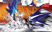 IDW Sonic vs Neo Metal