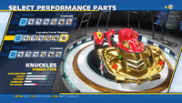 Knuckles Legendary Potent Thrusters Rear
