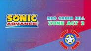 Neo Green Hill Zone Act 2 - Sonic Advance