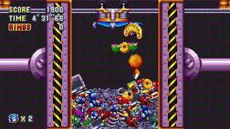 Sonic Mania Boss 7 - Trash Compactor