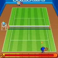 Sonic Tennis 8