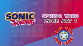 Spring Yard Zone Act 1 - Sonic the Hedgehog