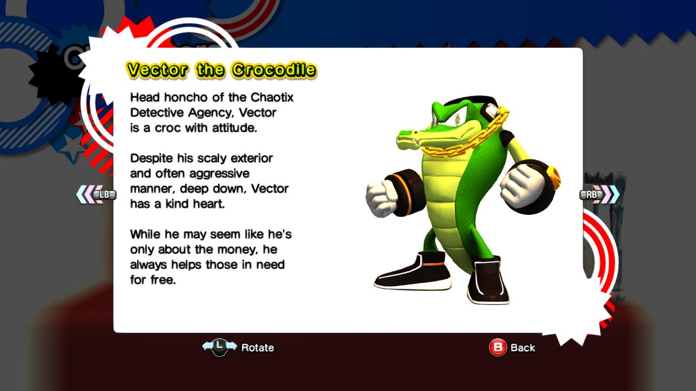 Vector The Crocodile Sonic News Network Fandom