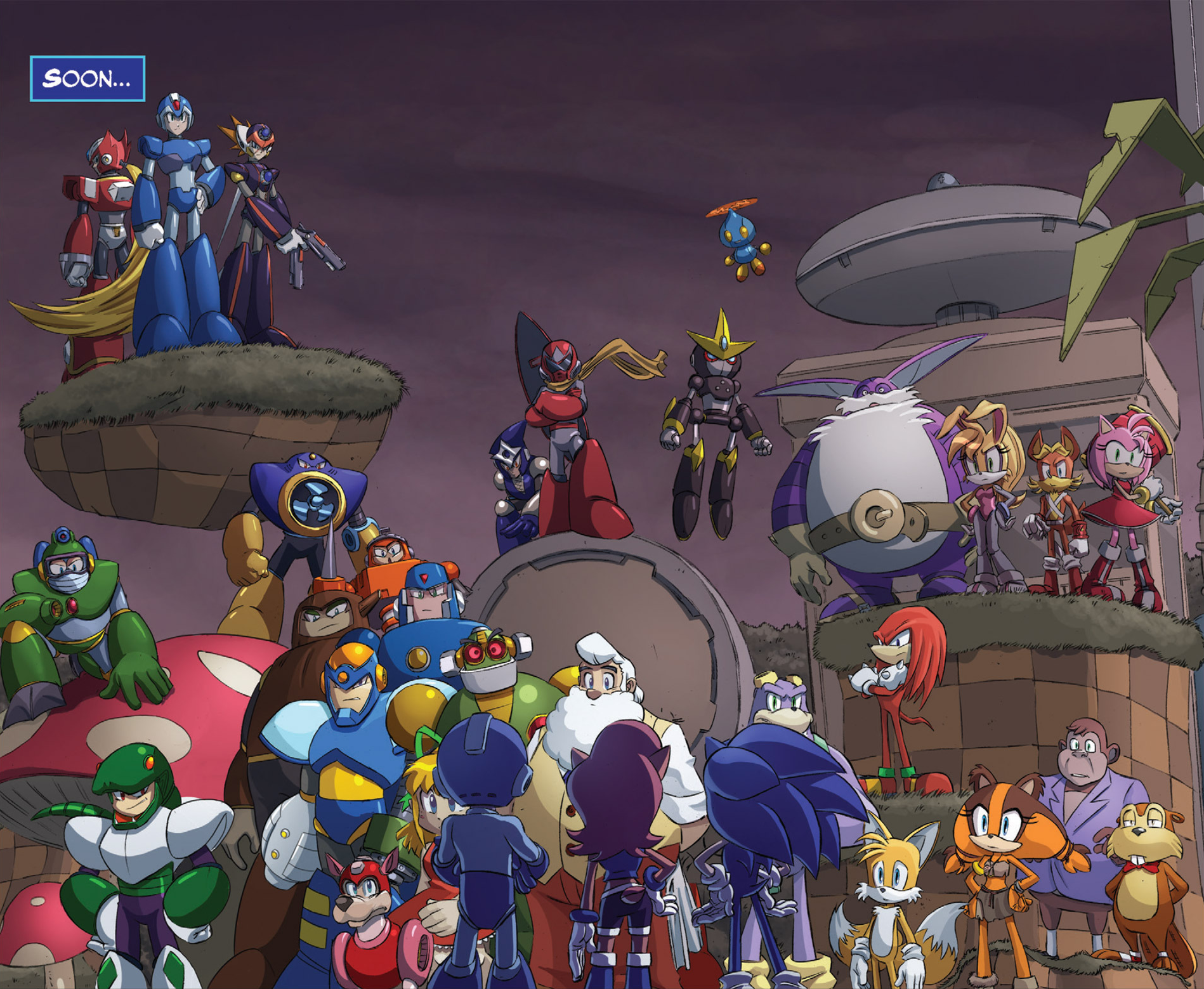 Wily Robot Masters | Sonic News Network | FANDOM powered ...