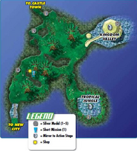 Forest mapa