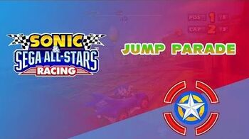 Jump Parade - Sonic & Sega All-Stars Racing