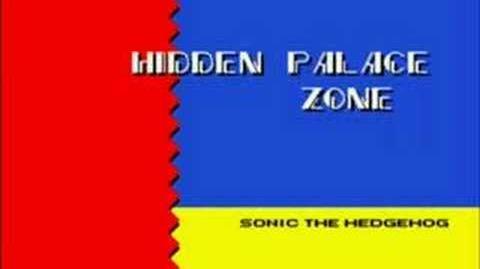 Sonic 2 Hidden Palace Zone