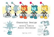 Sonic robot concept art