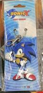 GEE SonicX KeychainPVC Sonic