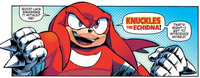 Knuckles the Echidna (Sonic Boom) Archie Comics
