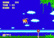 Propeller Flying Sonic 3