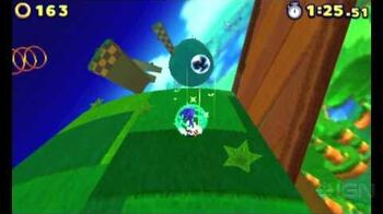 Sonic Lost Worlds Windy Hill Tutorial Gameplay (3DS)-0