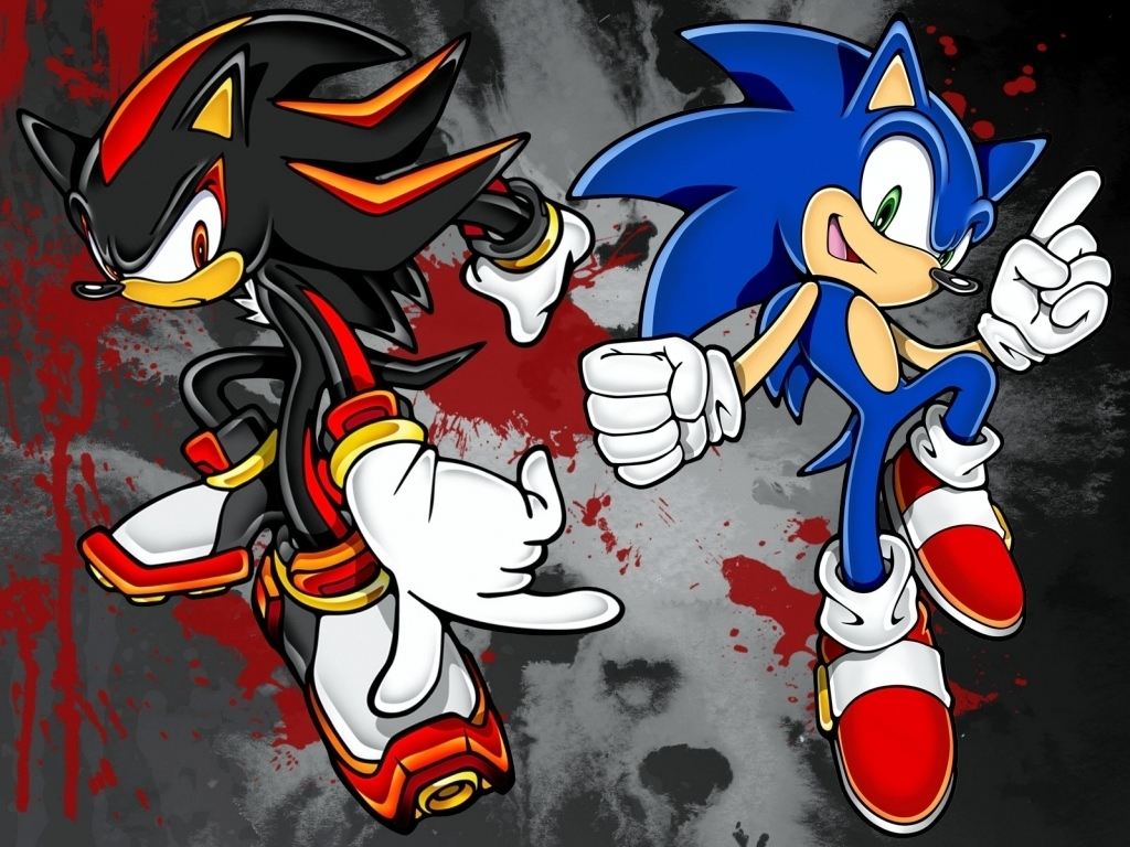 Sonic And Shadow Wallpaper By David Tiziu