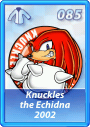 Card 085 (Sonic Rivals)