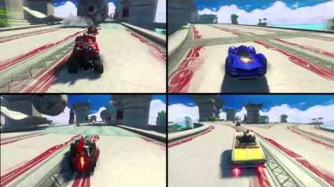 Sonic & All-Stars Racing Transformed™ - Ways To Play Trailer (UK)