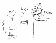 Sonic 1 sketch 6