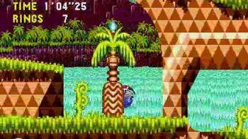 Sonic CD Round 1 - Palmtree Panic