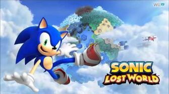 "Sonic Lost World ""Sky Road Act 2 (Dragon Dance)"" Music-1406310391"