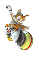 Tails Zero Gravity art