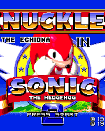 Knuckles The Echidna In Sonic The Hedgehog 2 Sonic News Network