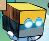 Cubot Sonic Boom cube form