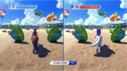 Mario & Sonic at the Rio 2016 Olympic Games - Waluigi VS Sonic Equestrian