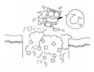 Sonic 1 sketch 4
