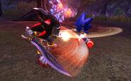 Fight Fight Fight lancelot shadow vs sonic arturo