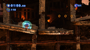 Lighting or Thunder Shield in Sonic Generations